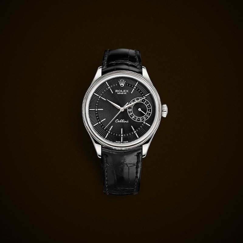 Rolex Cellini con quadrante nero