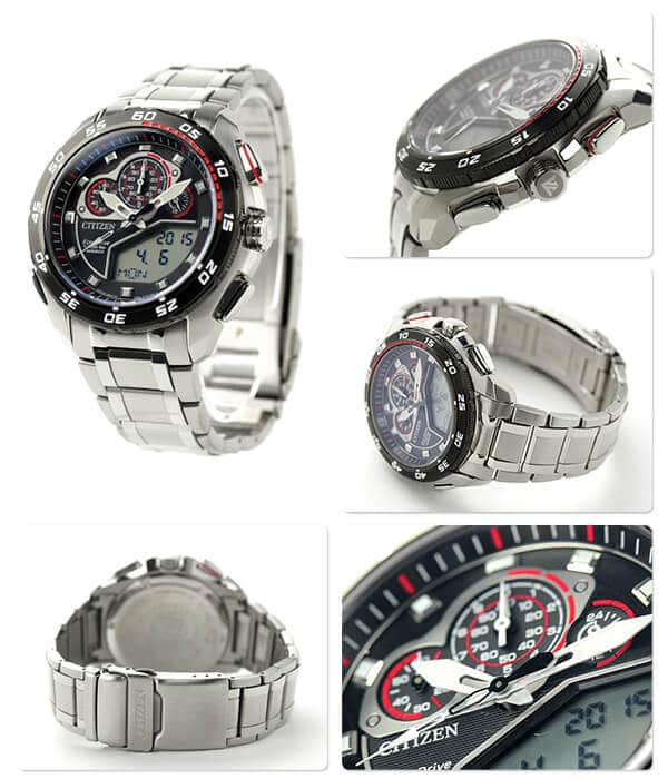 orologio da uomo Citizen Promaster Crono Millesimo JW0124-53E