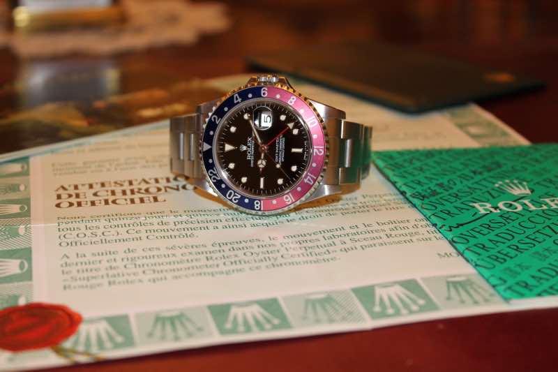 Rolex GMT-MASTER ref.16700, anno 1996