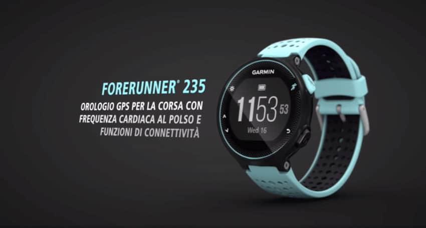 orologio gps cardio Garmin Forerunner 235