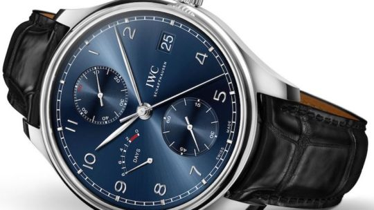 IWC Portoghese Hand-Wound Monopusher Edition