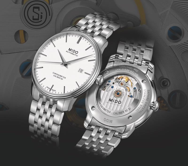collezione orologi Mido Baroncelli