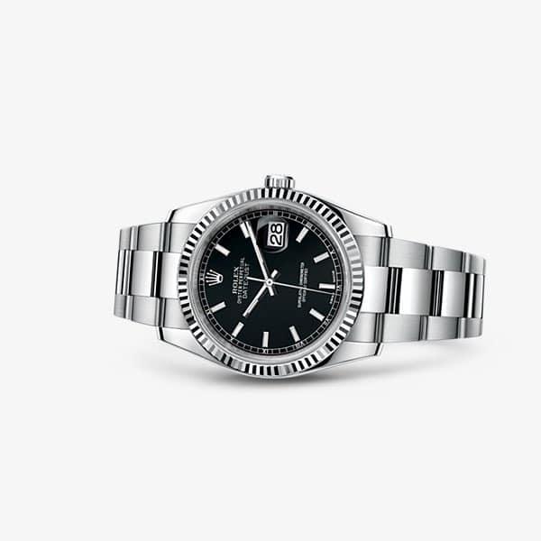 Rolex Datejust 36 con quadrante nero
