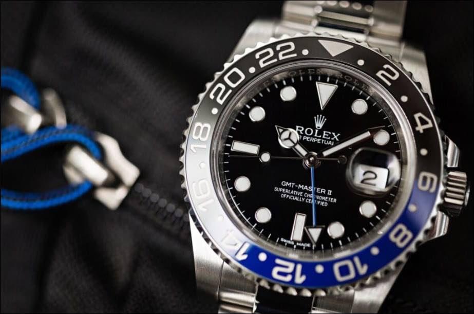 Orologio Rolex GMT-Master II in Acciaio 904L Ref. 116710BLNR