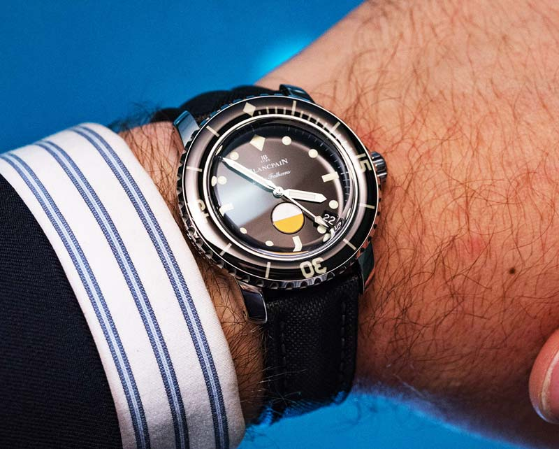 Blancpain Tribute to Fifty Fathoms MIL-SPEC PRESENTATO AL BASELWORLD 2017