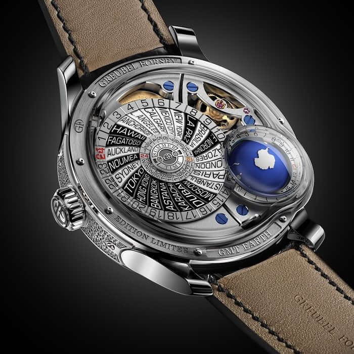 GMT Earth offre una visione del tempo olistica