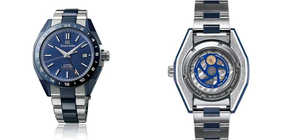 Grand Seiko Blue Ceramic Hi-Beat GMT 'Special' Limited Edition SBGJ229