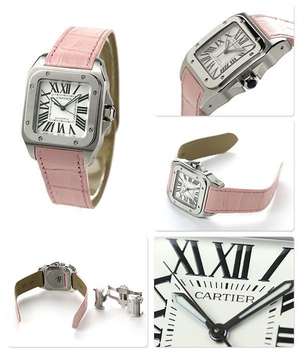 Cartier Santos donna 100 W20126X8
