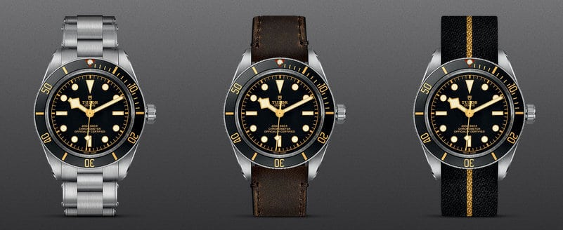 Black Bay Fifty-Eight baselworld 2018