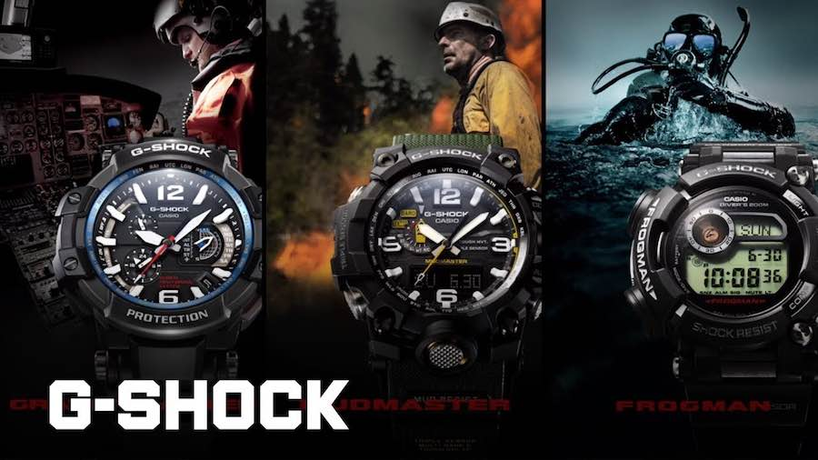 G Shock Casio Master OF G