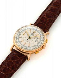 Chronographe Anti-magnétique Ref. 4062 di Rolex, della fine degli anni '40.