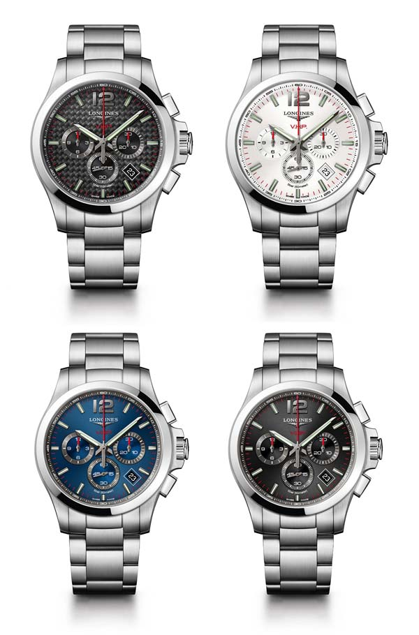 Orologi con cronografo Longines Conquest VHP