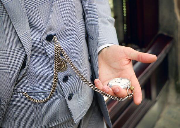 catenella per orologio da tasca