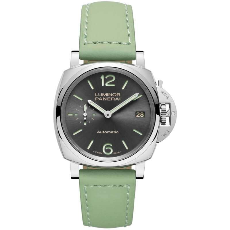 PANERAI LUMINOR DUE 3 DAYS AUTOMATIC ACCIAIO 38 MM REF. PAM00755