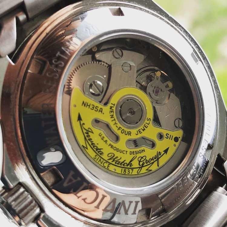Nh35 su Invicta 9094 Pro Diver