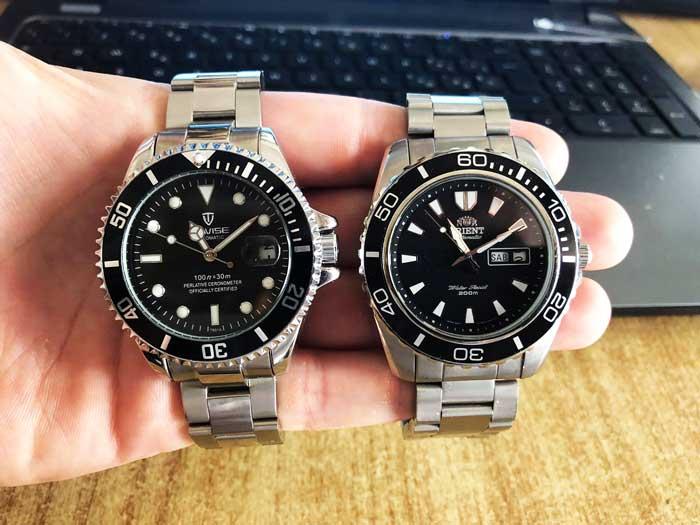 Orient Mako vs Tevise T801A