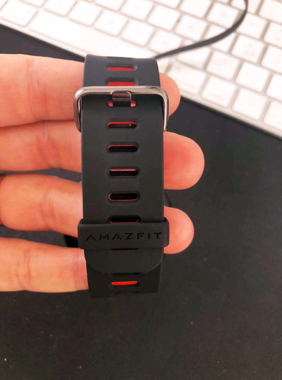 cinturino in gomma dello smartwatch xiaomi amazfit pace