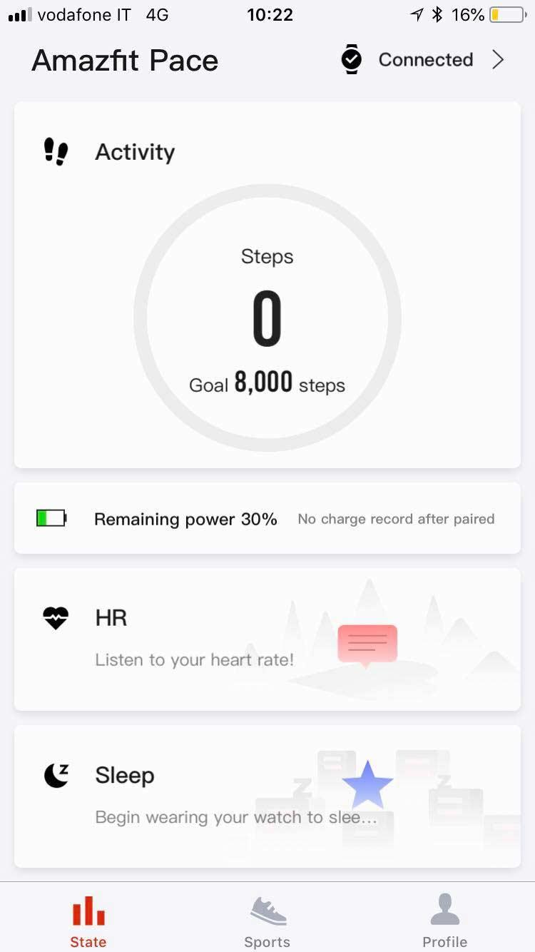 app per ios e android xiaomi amazfit pace