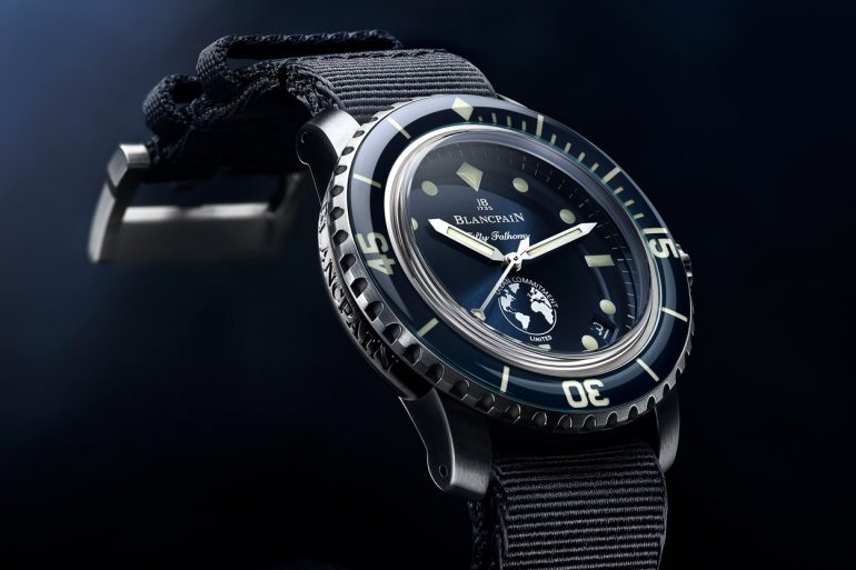 Orologio Sud Blancpain Fifty Fathoms Ocean Commitment III
