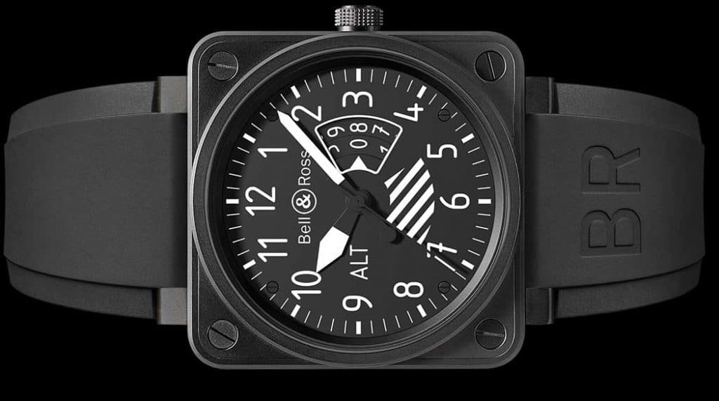 orologio militare Bell & Ross Aviation Br 01 Altimeter