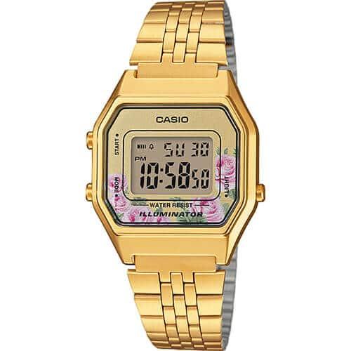 Orologio casio floreale LA680WEGA-4CEF