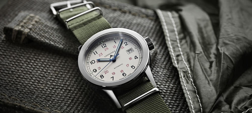 LONGINES Heritage Military Automatic L28324735