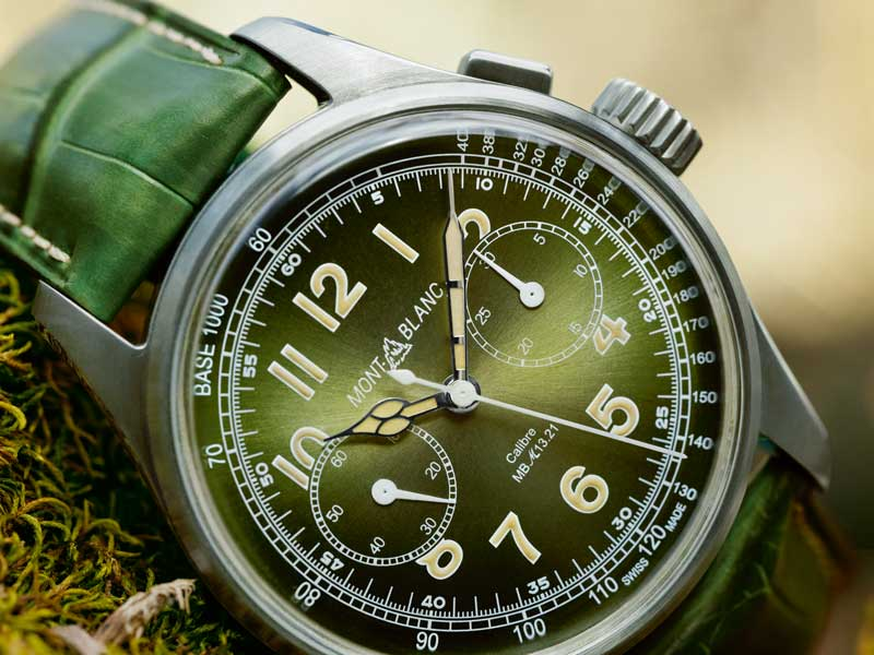 Montblanc 1858 Monopusher Chronograph Limited Edition 100.