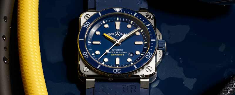 Bell and Ross BR-03-92 Diver Blue