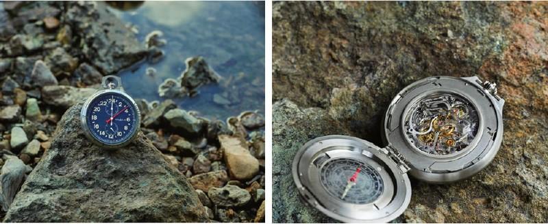 1858 Pocket Watch Limited Edition 100, orologio da tasca