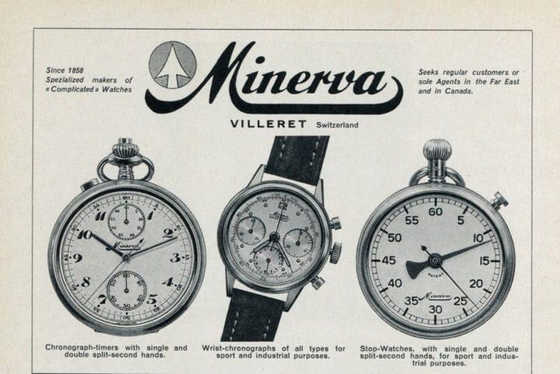 Storia degli orologi Minerva