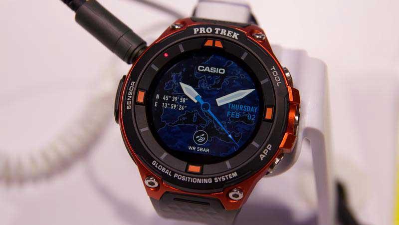 Recensione e prezzo Casio WSD F20 smartwatch