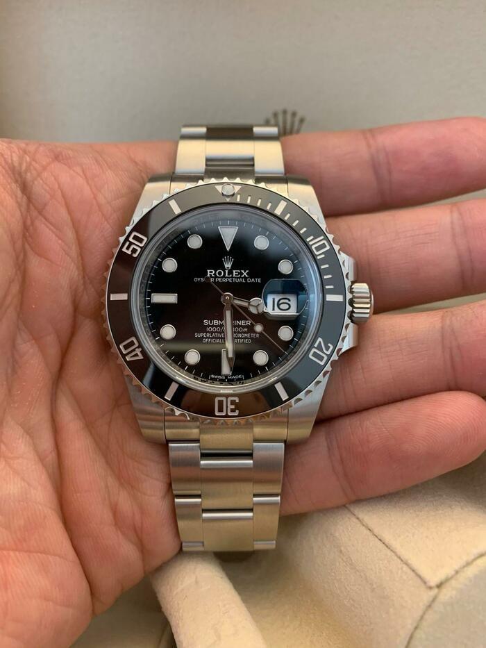 Rolex Submariner nero 116610