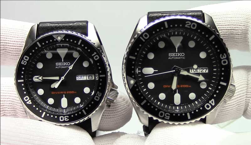 Differenze tra Seiko SKX013 vs SKX007