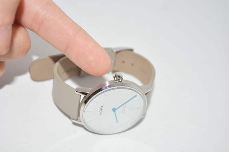 tasto funzione nowa watch