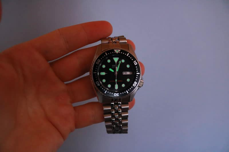Luminescenza seiko skx013