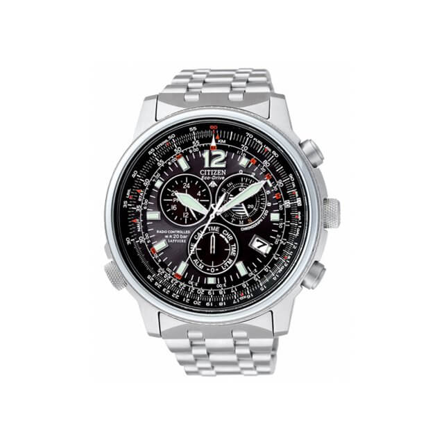 citizen radiocontrollato pilot titanio as4050 51e