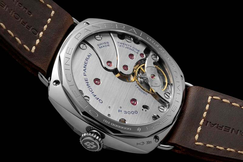 Movimento calibro P.3000 Panerai