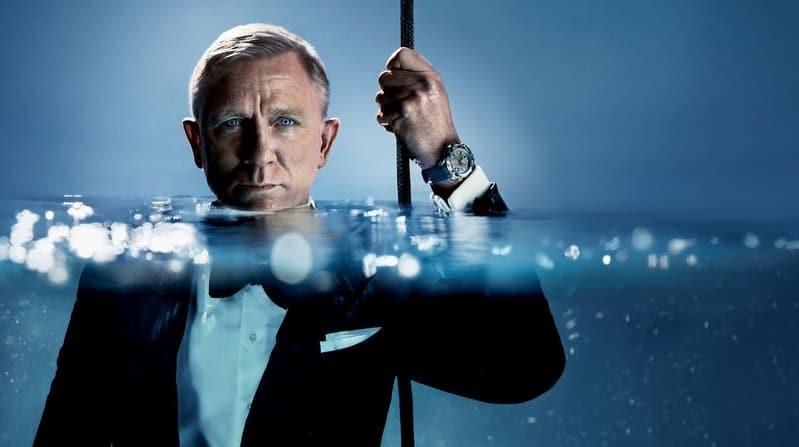 Daniel Craig con Omega Seamaster Diver 300 M in Acciaio