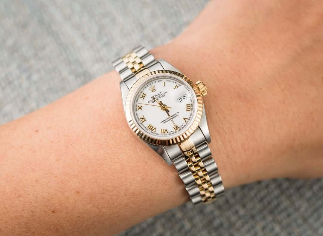 ROLEX LADY-DATEJUST 26MM REF 69173