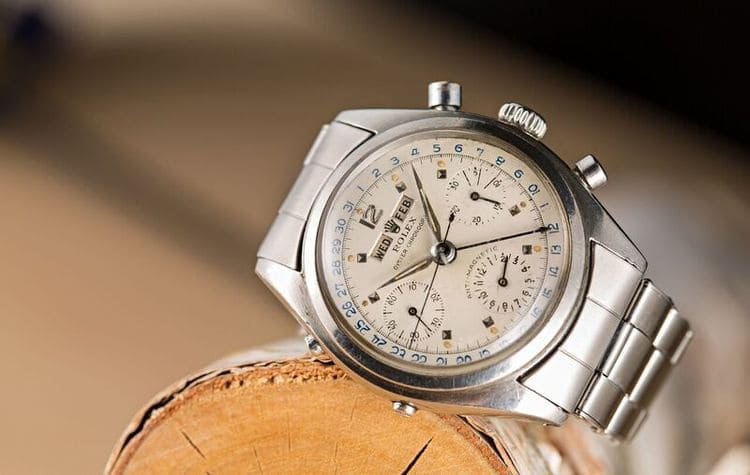 "Phillips Lotto 42 - Rolex Ref. 6236, noto anche come ""Jean-Claude Killy"" - 702.500 franchi svizzeri."