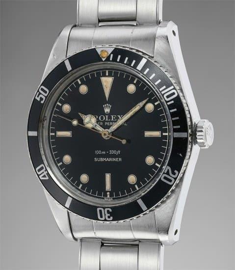 Rolex Submariner Ref. 5508 – 35.670 euro.