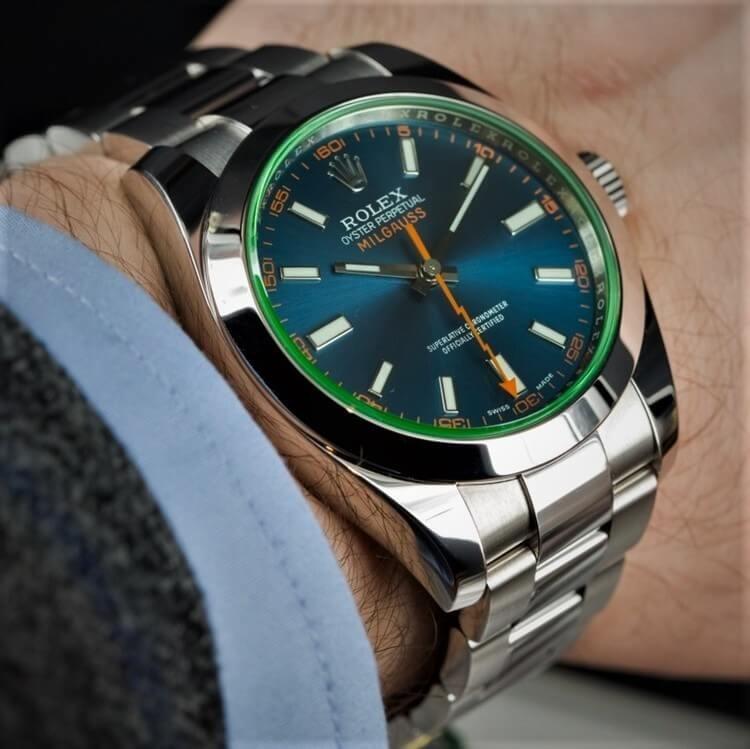 Rolex Milgauss 116400GV da uomo