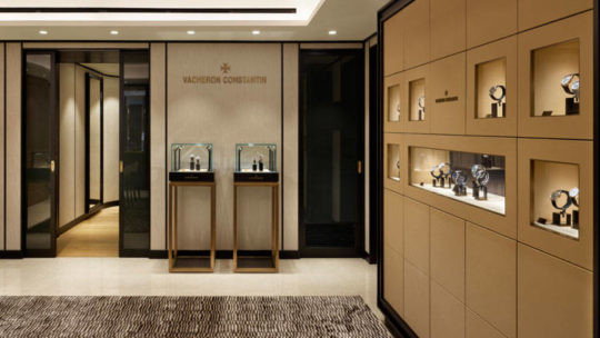 Vacheron Constantin: aperta la prima boutique a Milano