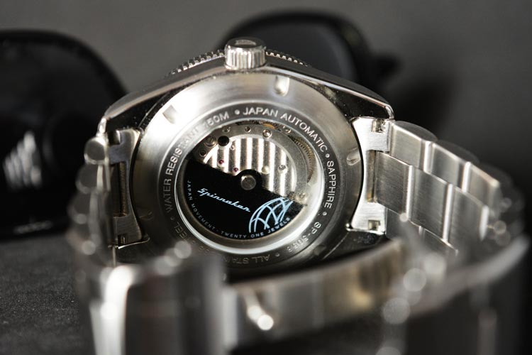 Japan Automatic 2 Hands with Date and Small Second