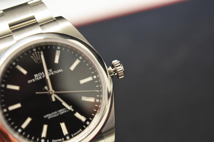 Rolex black oyster perpetual