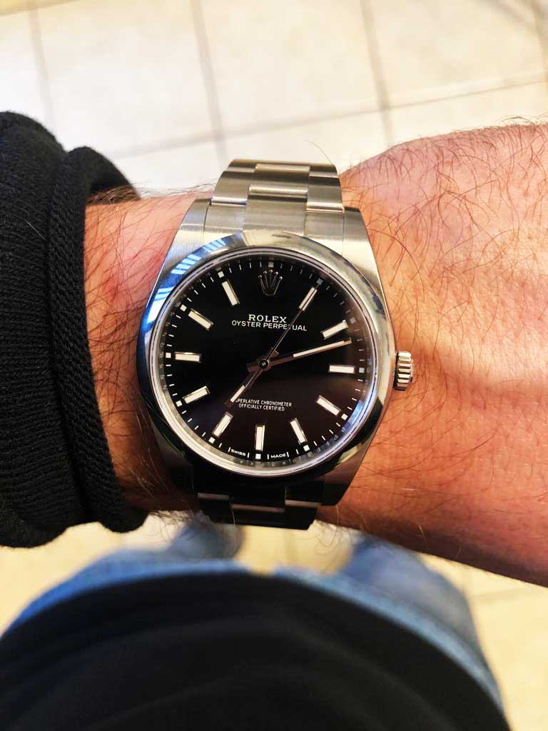 Recensione rolex oyster perpetual 39