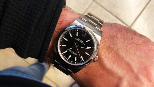 rolex oyster perpetual 39 opinioni