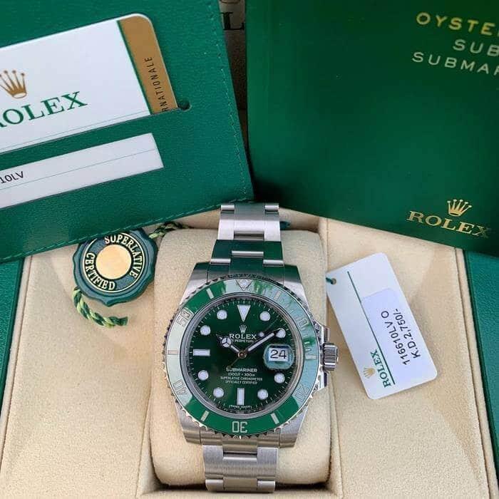 rolex submariner ghiera verde prezzo