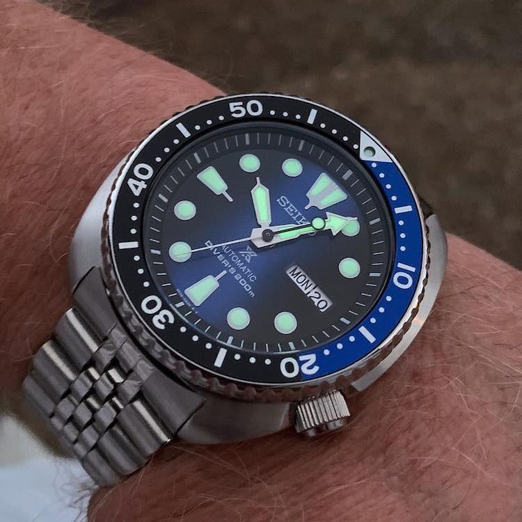 Orologio Seiko Turtle Batman srpc25k1