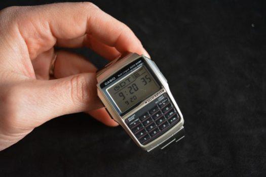 Casio Databank: l'orologio calcolatrice